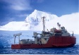 ARSV Laurence M. Gould near the Antarctic Peninsula.