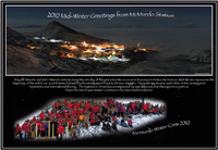 Midwinter Greetings from McMurdo Station, Antarctica
