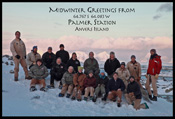 Midwinter Greetings from Palmer Station, Antarctica