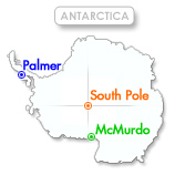 United States Anarctic Stations