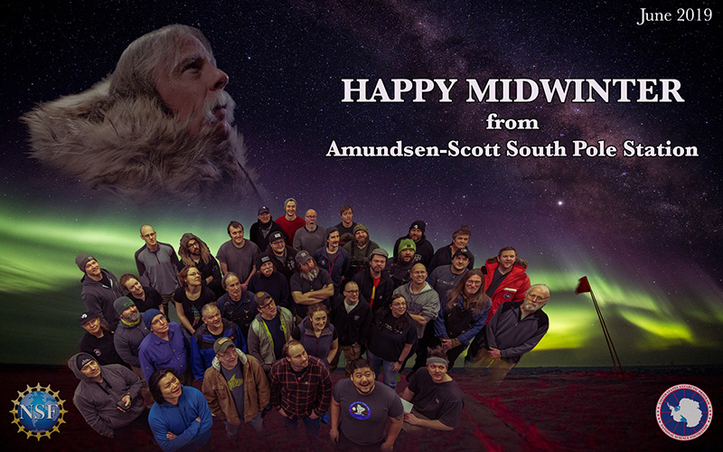 2019 Midwinter Greetings from McMurdo Station