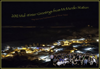 2012 Midwinter Greetings from McMurdo Station