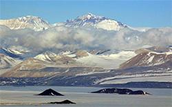 The Royal Society Range, Victoria Land, Antarctica
