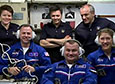 International Space Station Welcomes Three New Crewmembers