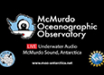 Underwater Sounds from McMurdo Station
