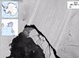 Massive Iceberg Breaks From Pine Island Glacier