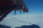 Deep Channels Link Ocean to Antarctic Glacier