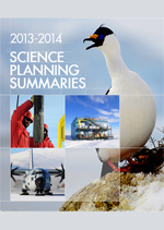2013-2014 Science Planning Summary Download