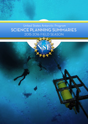 2015-2016 Science Planning Summary
