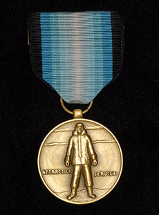 Photo of the Antarctica Service Medal