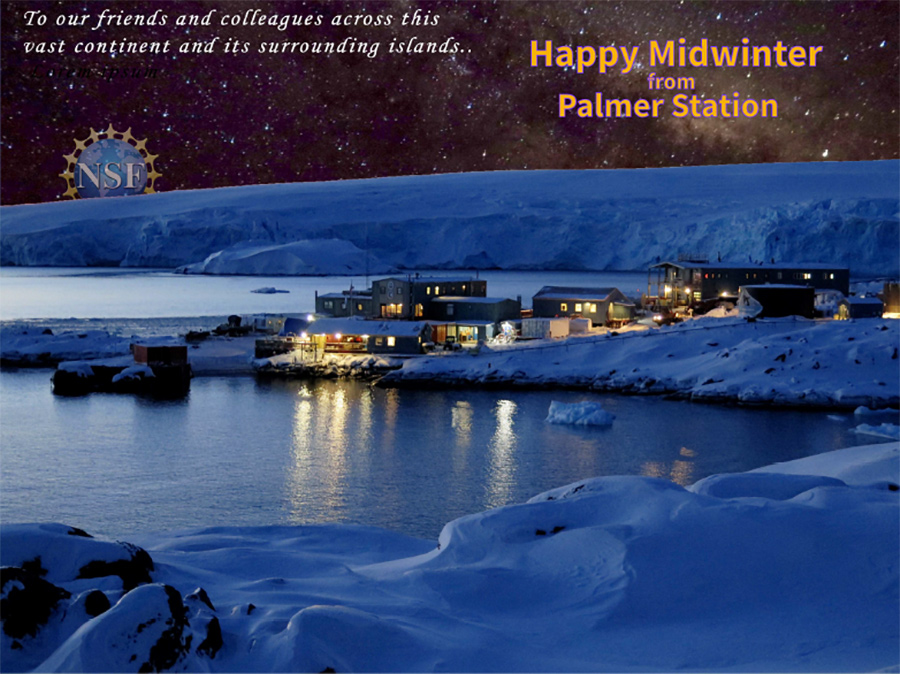 2019 Midwinter Greetings from Palmer Station