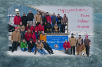 2012 Midwinter Greetings from Palmer Station