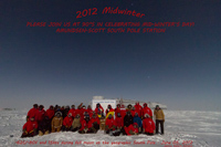 2012 Midwinter Greetings from South Pole Station