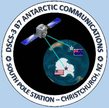 The South Pole DSCS Communications Link Mission Patch
