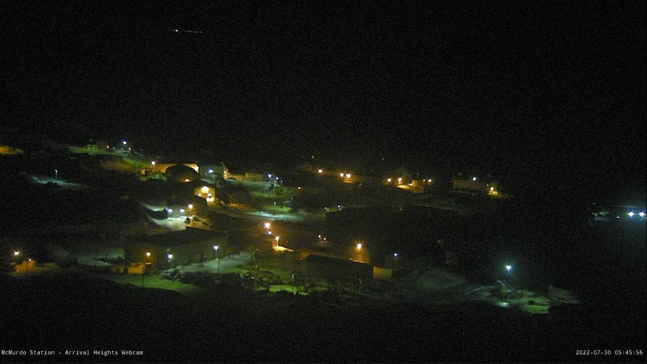 McMurdo Station - Arrival Heights Webcam
