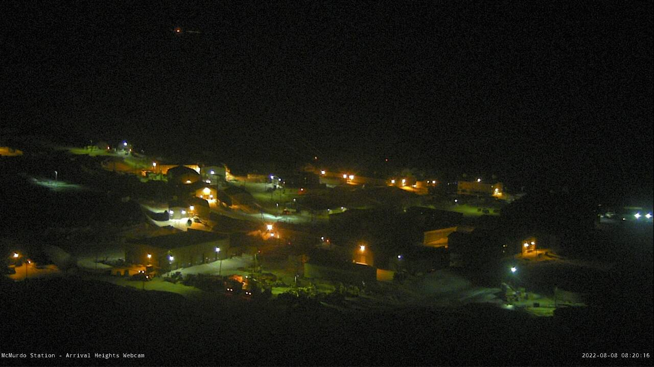 view from the McMurdo USAP webcam