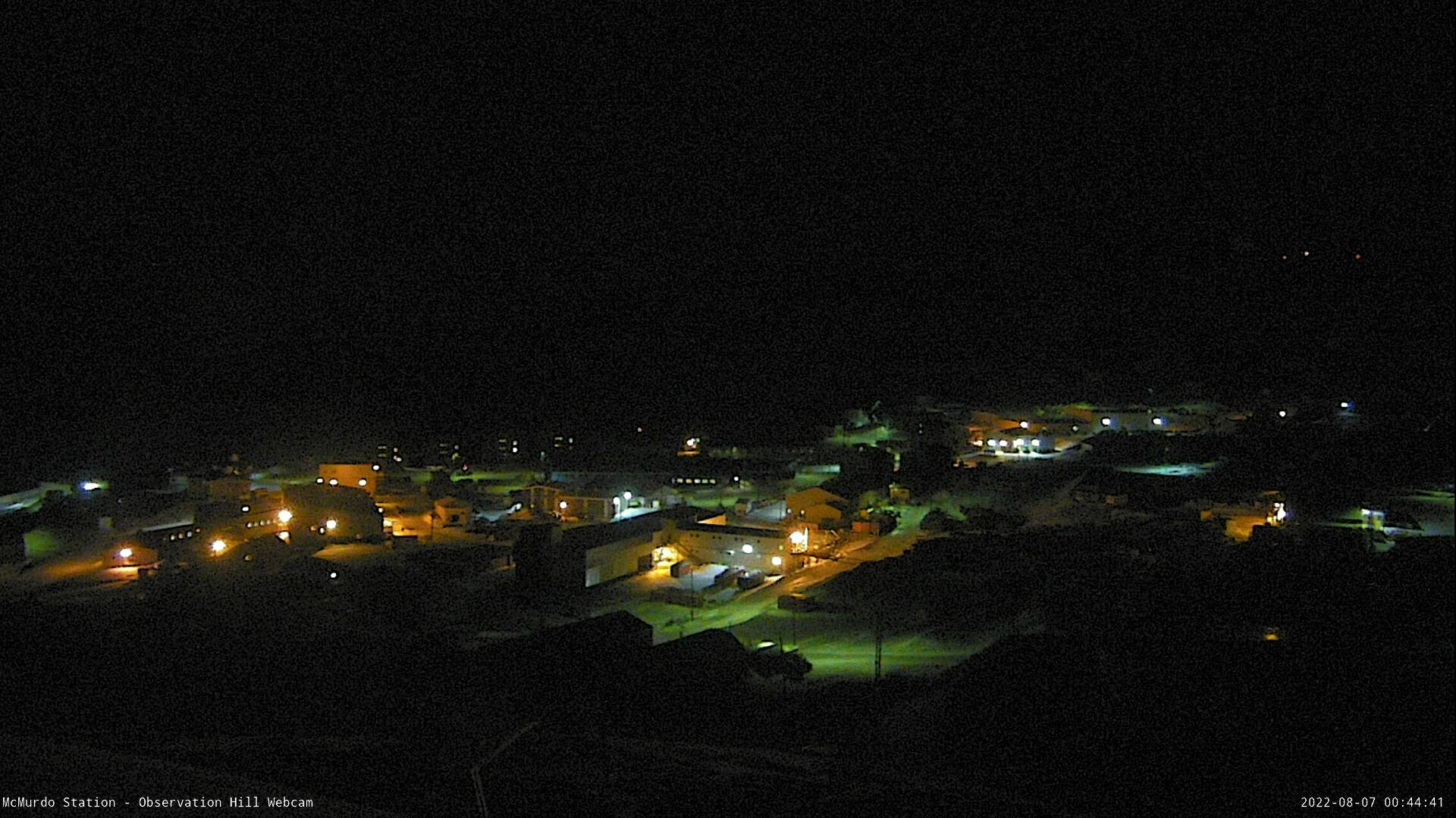 McMurdo Station - Observation Hill Webcam